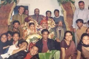 Pankaj Tripathi shared his wedding picture on Facebook.