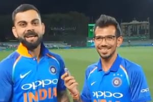 Virat Kohli appears on an episode with Chahal TV.