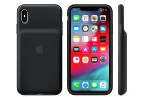 Apple offered a similar case for its older iPhone 6 and iPhone 7 models.