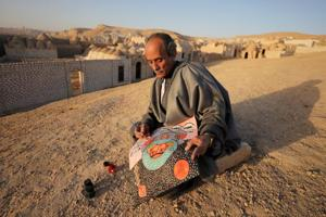 Photos: An Egyptian master's handcrafted colours capture rustic life
