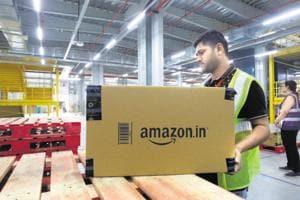 An Amazon centre in Bengaluru.