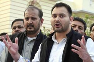 RJD leader Tejashwi Yadav on Wednesday targeted Nitish Kumar for his statement that BJP president Amit Shah had suggested induction of former poll strategist Prashant Kishor into JD(U), saying the Bihar chief minister has finally admitted that his party was an advanced version of the saffron outfit.