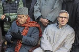 National Conference president Farooq Abdullah and party vice-president Omar Abdullah, have visited south Kashmir on two separate occasions in the last four days.
