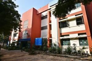 A government school at Laxmi Bai Nagar in New Delhi. The NDMC plans to install CCTV cameras and emergency buttons in all its schools.