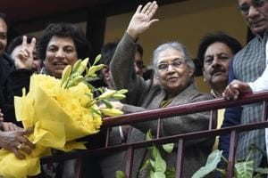 Sheila Dikshit took over as the chief of the Congress's Delhi unit on Wednesday. The party is banking on the three-time chief minister to revive its hopes in the national capital in 2019 Lok Sabha polls.