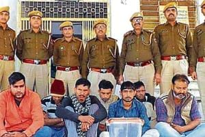 Praveen Rajpurohit and his gang were arrested on Tuesday after carrying out the theft on January 5, according to police.