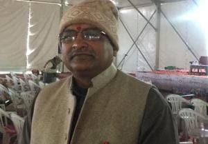 VHP's international secretary general Milind Parande