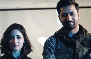 Vicky Kaushal, Yami Gautam feature in the new video.