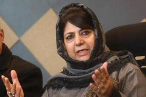A year after the gruesome rape and murder of an eight-year-old girl in Jammu and Kashmir's Kathua district, former chief minister Mehbooba Mufti on Thursday attacked her then coalition partner BJP for staging protests in favour of the suspected rapists.