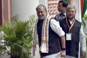 Deputy chief minister cum finance minister of Bihar SushilModi