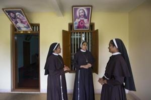 The nuns have since been hounded, asked to vacate their convent in Kuravilangad (Kottayam) and proceed to their previous vocations by their mother superior.