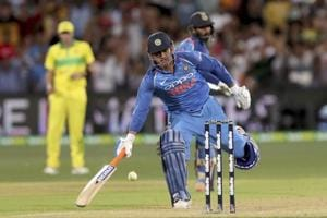 MS Dhoni is 37 years old. He takes too long to build an innings. The current game has left him behind. It is unrealistic to expect him to have a sudden, late efflorescence