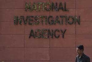 The National Investigation Agency (NIA) on Thursday carried out raids at seven places. (Photo by Vipin Kumar/ Hindustan Times)