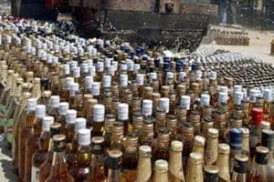 Sanjay Singh is perhaps the first senior official to be arrested for possession of liquor, which is banned in Bihar.