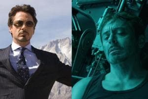 Tony Stark and Steve Rogers are all sad and hopeless in their pictures from 10 years later.
