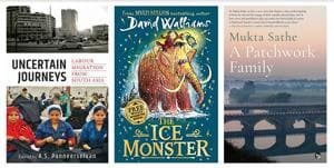 Of an orphan and a woolly mammoth, essays on migration, and a debut novel are perfect for this weekend's reading list!