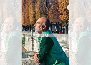 Manish Arora's unabashed love for bold, vibrant hues percolates not just his design but also his personality, belongings and surroundings