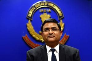 Rakesh Asthana appointed director of civil aviation security. (Photo by Arun Sharma/ Hindustan Times)