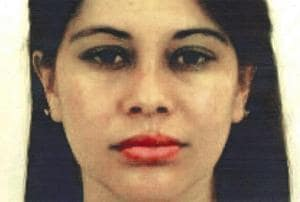 """This undated photo provided by the United States Attorney for the Eastern District of New York shows Lucero Guadalupe Sanchez Lopez. Sanchez, who says she had an affair with the notorious Mexican drug kingpin Joaquin """"El Chapo"""" Guzman, testified against him on Thursday."""
