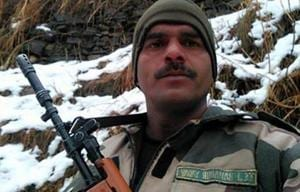 Police said it appeared that BSF trooper Tej Bahadur Yadav's son Rohit committed suicide as a revolver was found in his hand.