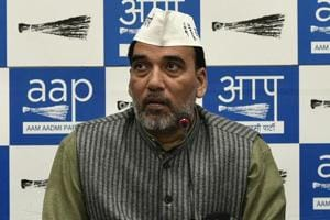 AAP leader Gopal Rai said his party was the only one to start a movement against the 'corrupt' Congress rule.