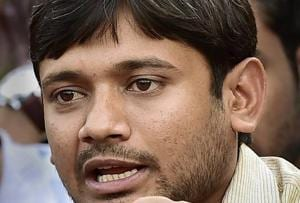 Besides Kanhaiya Kumar (pictured), the accused include Umar Khalid and Anirban Bhattacharya.