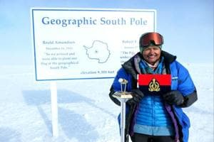 Pneumonia-hit IPS Aparna Kumar conquered South Pole with broken specs