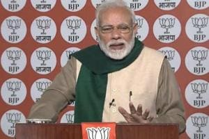 Prime Minister Narendra Modi on Sunday took pot shots at the United India Rally that was organised by TMC chief and West Bengal chief minister Mamata Banerjee on Saturday.