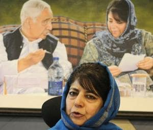 Former chief minister of Jammu and Kashmir and PDP chief Mehbooba Mufti onSunday alleged that Muslim tribals in Jammu were being targeted and feeling vulnerable (File Photo)