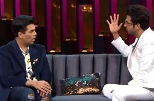 Koffee with Karan promo:Rajkummar Rao and Bhumi Pednekar are the next guests on the popular show.