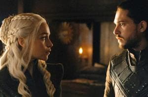 Daenerys and Jon fell in love in Game of Thrones' season 7.