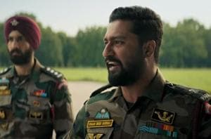 Vicky Kaushal plays an army officer in Uri: The Surgical Strike.