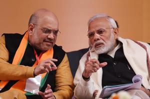 Prime Minister Narendra Modi and BJP national president Amit Shah.