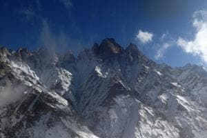 Himalayan glacier recedes as climate change hits home