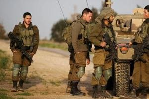 Israel's military said on Monday it struck Iranian Quds targets inside Syria and warned Syrian forces not to attack Israeli territory or forces.