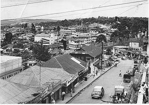 View of Shillong in the early 1990s.