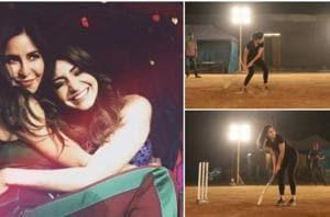 Katrina Kaif has asked friend Anushka Sharma for a simple favour -- an introduction to Virat Kohli!