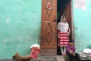 Asiya's family, which lives in New Delhi's Dr Ambedkar Nagar Colony, has been saving money to send her brother (not in picture) to Australia.