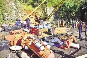 Rescuers lose track of body in Meghalaya's flooded rat-hole mine