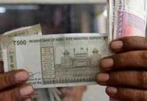 The Indian rupee Wednesday snapped its three-day losing streak and settled higher by 11 paise at 71.33 against the US dollar.
