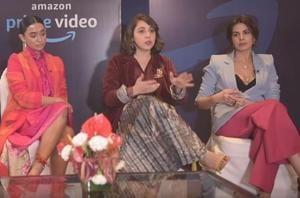 Gurbani, Sayani Gupta, Manavi Gagroo, Kirti Kulhari are the lead actors of Four More Shots Please.