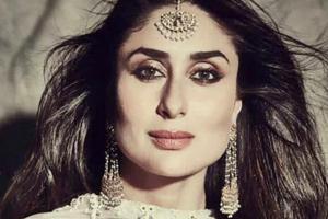 Kareena Kapoor sparkled in an Anita Dongre lehenga at the Isha Ambani wedding.  (Instagram)