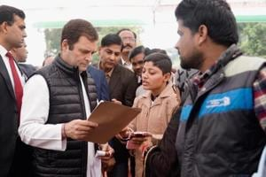 Rahul Gandhi in Amethi LIVE updates: Congress chief meets party workers