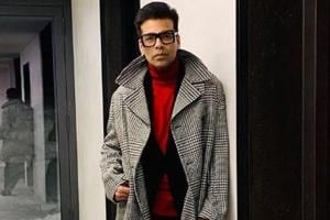 Karan Johar's winter fashion at the World Economic Forum in Davos is on point and there's something for everyone in it- See pics-