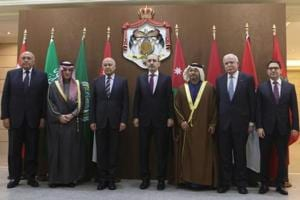 The second meeting of the Arab-India Cooperation Forum, created to boost cooperation with the 22-member Arab League, was to be held in New Delhi in late January.