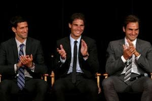 A great deal of mutual respect underpins the relationship between tennis players Novak Djokovic, Rafael Nadal and Roger Federer.