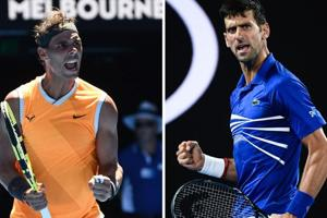 The Australian Open final will be the 53rd match between Rafael Nadal and Novak Djokovic.