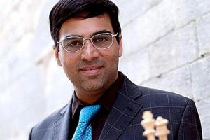 Vishwanathan Anand drew with Ding Liren of China.