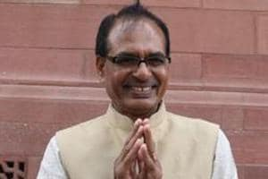 Former Madhya Pradesh chief minister Shivraj Singh Chouhan has said rival parties don't have a leader to match Prime Minister Narendra Modi.( Photo by Sonu Mehta/ Hindustan Times)