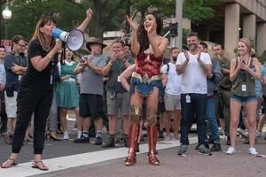Patty Jenkins spoke about a scene in Wonder Woman 1984 being her No Man's Land.